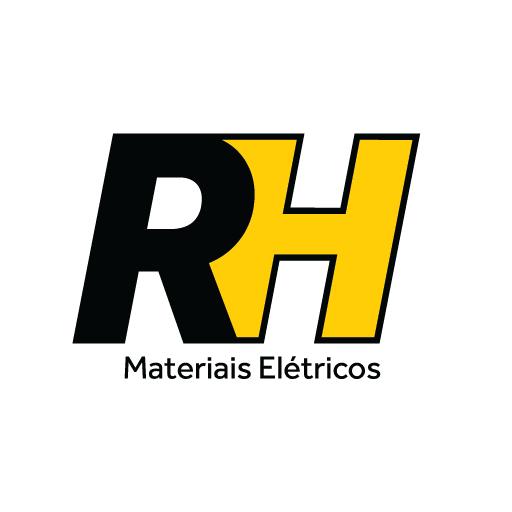 Logo RH Materiais Elétricos