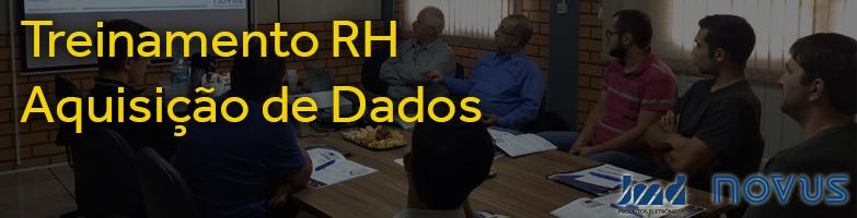 Treinamento Aquisição de Dados - RH Materiais Elétricos e NOVUS