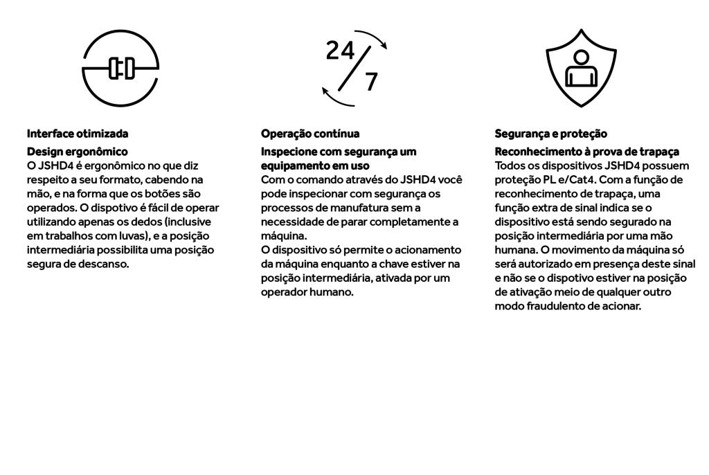 Características JSHD4