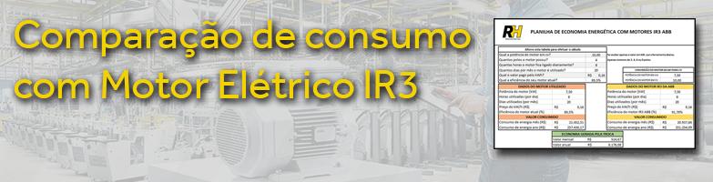 Economia de Consumo com Motores Elétricos IR3