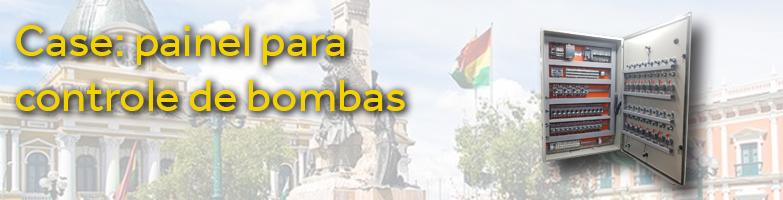 Painel montado pela RH é exportado para Bolívia